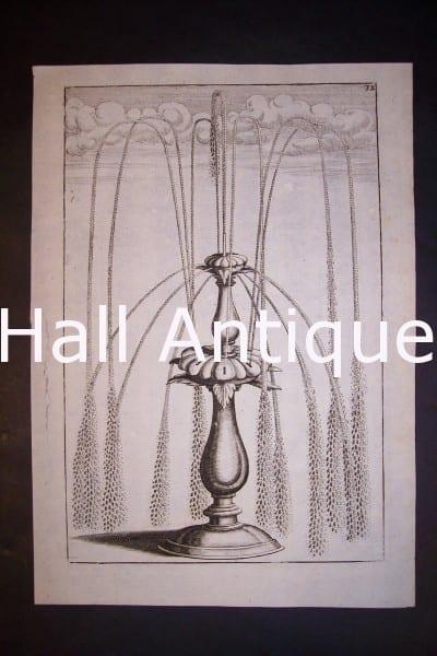 Architecture Bockler Fountain Print