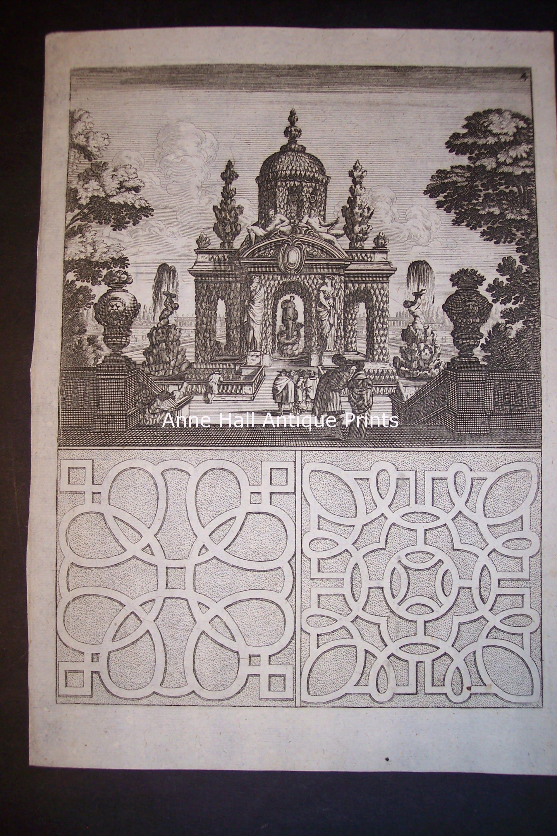 Bockler Fountain Print