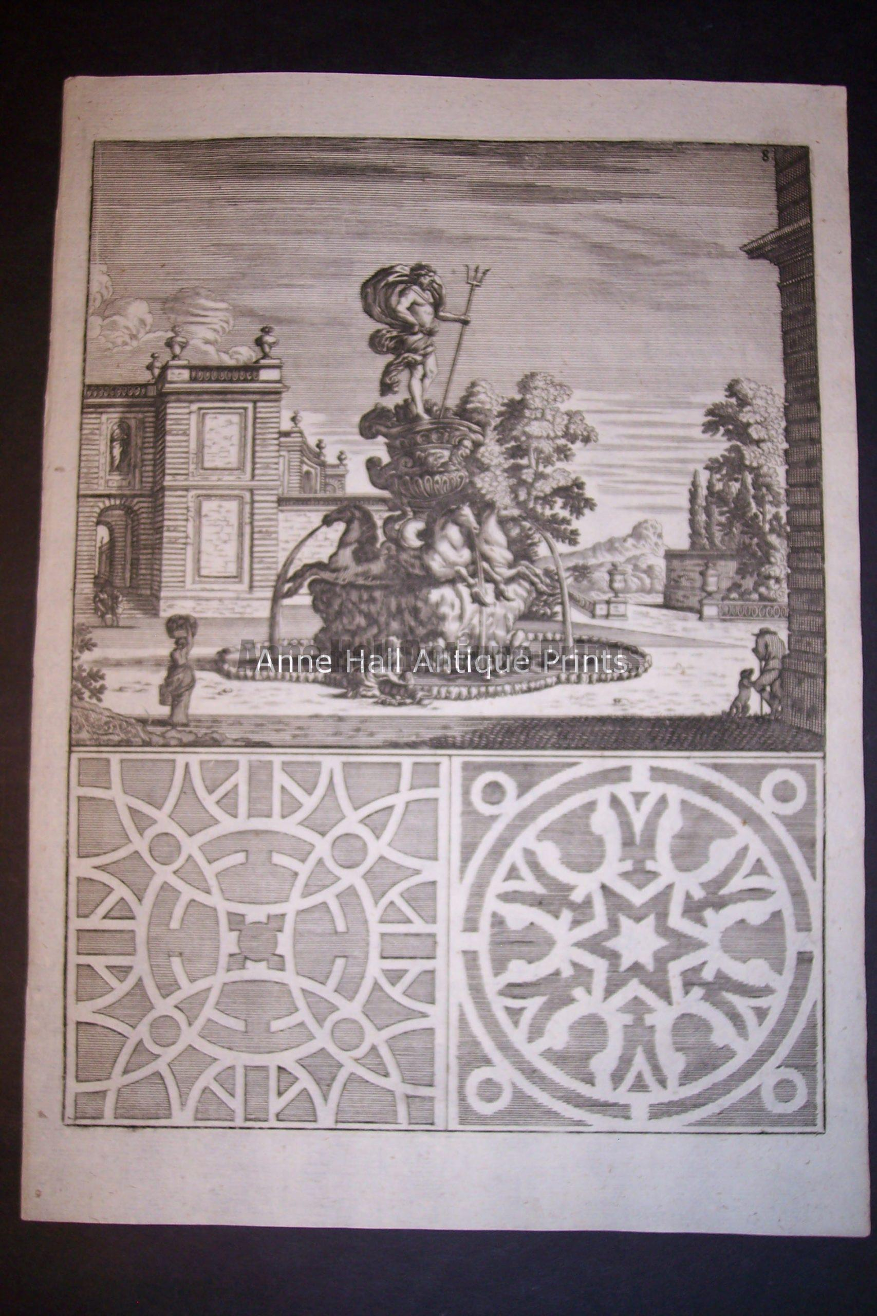 Bockler Fountain Print