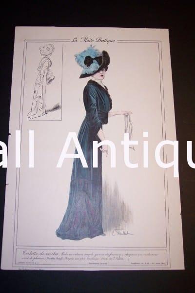 Fashion Prints: Ladies French 1911.