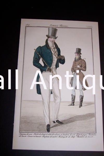 Fashion Prints: Men's Styles 1833.