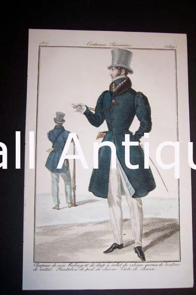 Fashion Prints: Men's 1833.
