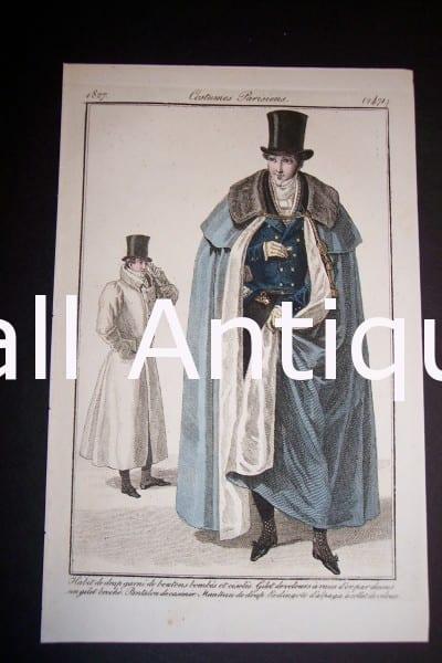 Fashion Prints: Men's 1833