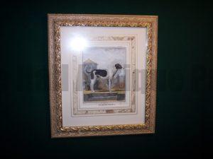 Buffon Dog Print Le Matin 6186