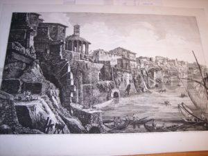 Rossini Engraving of Rome 8066
