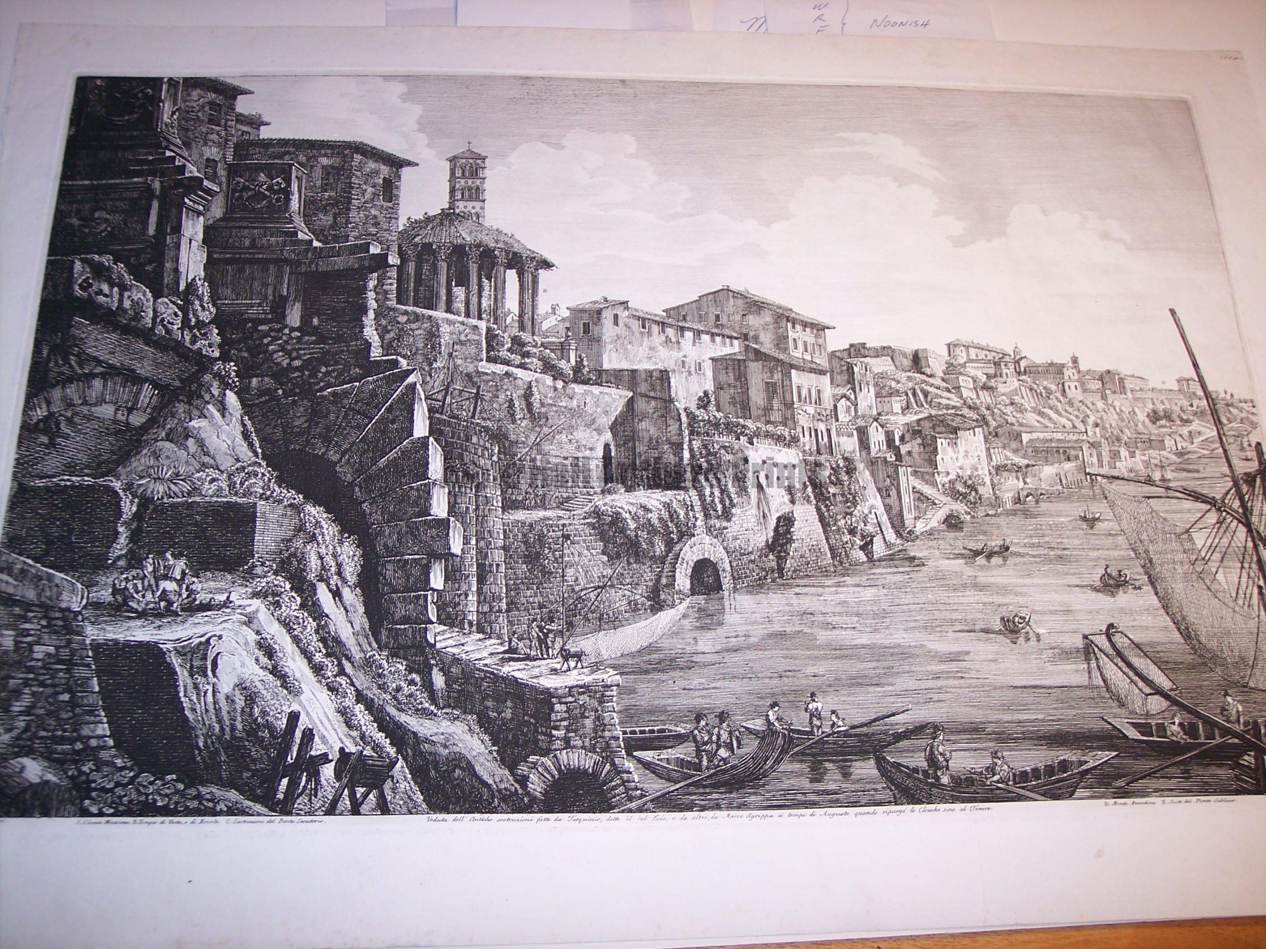 Rossini Engraving of Rome 8066