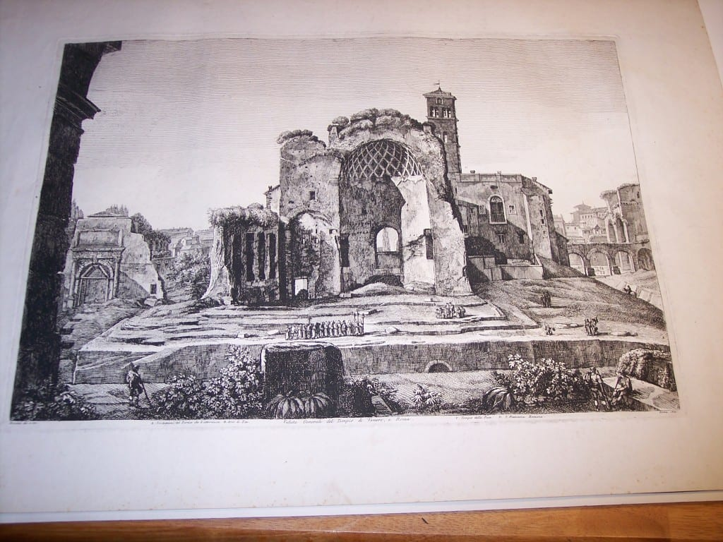 Rossini Rome Engraving