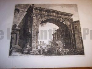 Rossini Etching of Rome 8071