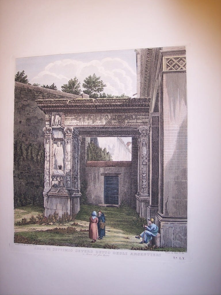 Rossini c.1820 engraving with water colors 8083