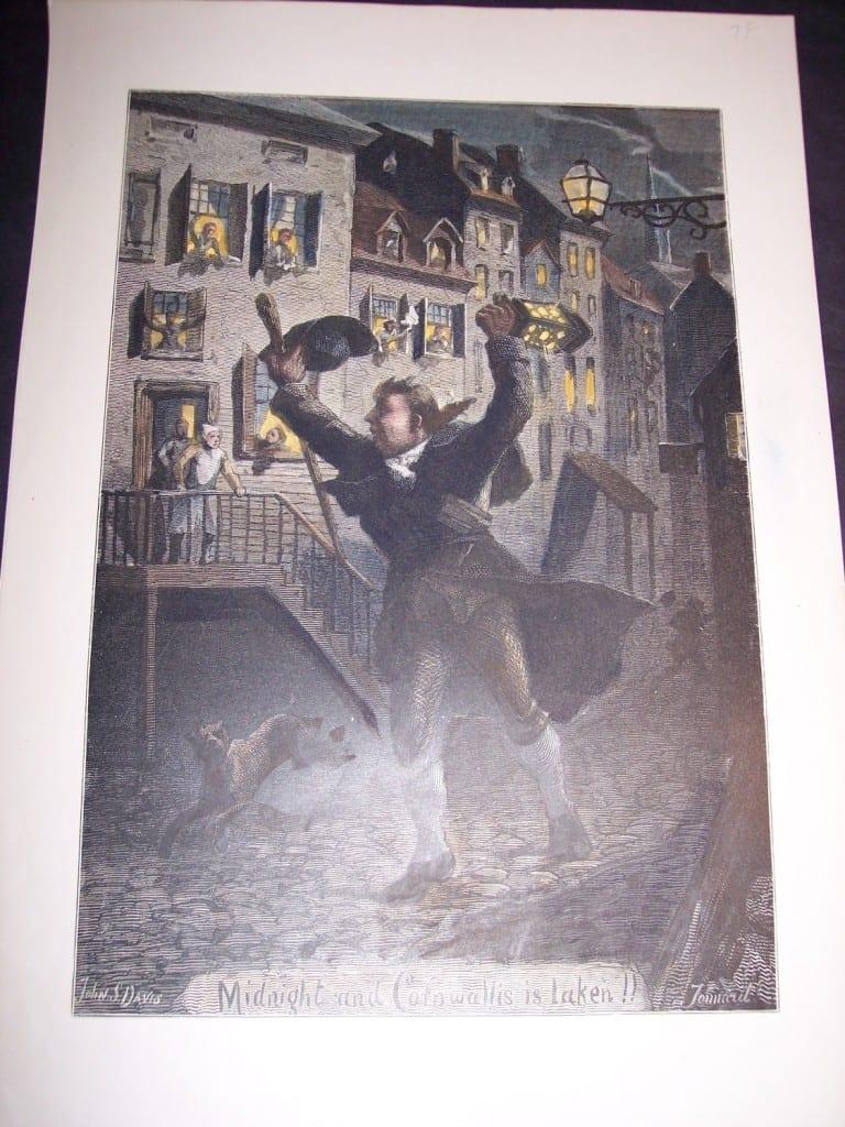Midnight and Cornwallis is Laken!! 1879. $50.