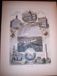 Boston Scenes, 1873. $60.