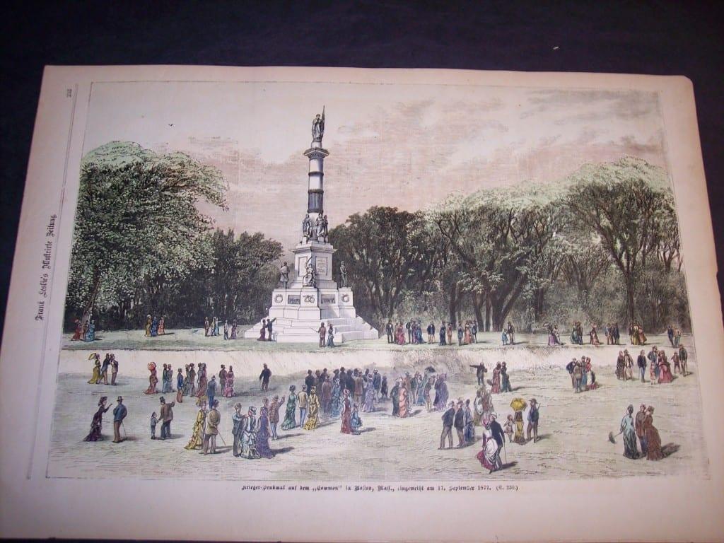Boston Common, September 17, 1877. $95.