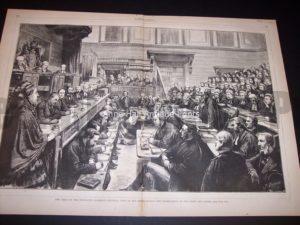 9685 1873 Old legal print Tichborne Trial $250.