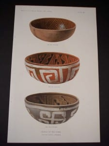 American Indian Pottery Chromolithograph from 1901.