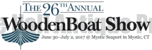 Wooden Boat Show Mystic, CT June 30- July 2, 2017
