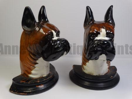 beautiful old boxer statues