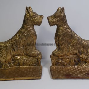 vintage scottie dog bookends
