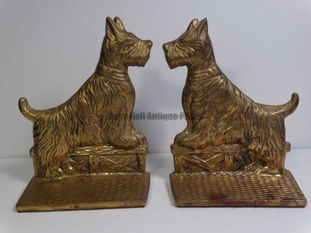 vintage scottie dog bookends