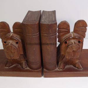 scotties books carved bookends