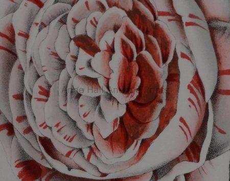decorative camellias for Southern Living home decor