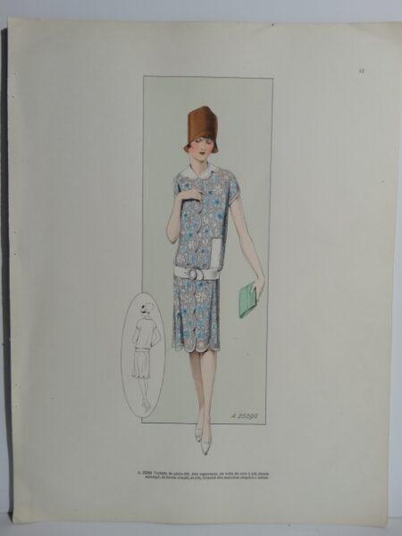 Art Deco Designer Dress12