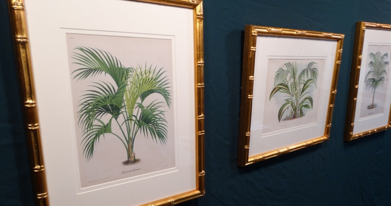 stunning wall decor palm trees