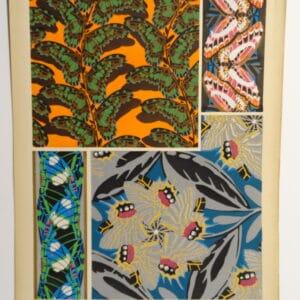 Seguy Butterflies Pochoir PL17