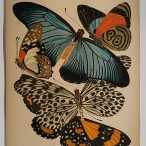 Own an original E.A. Seguy Papillons Plate.