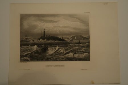 This image is of an original bookplate, engraving, for sale from Myers Universum, published Germany c.1850.