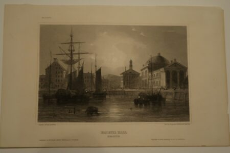 A boston History scene from the 1850's which published Germany.