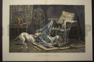 A Disarrangement in Blue, November 13, 1880. $200.