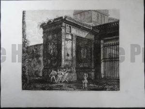 Arco di Settimil, Roma 1821