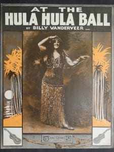 At The Hula Hula Ball, 1917.