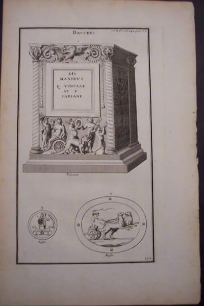Bacchus(1), 1719. $40.