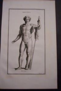 Bacchus(5), 1719. $40.