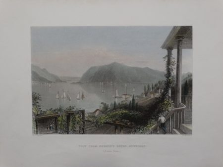 Bartlett View from Ruggle's House , Newburgh 20