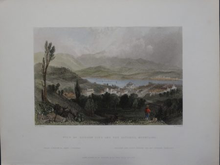 Bartlett View of Hudson City and the Catskill Mountains 29