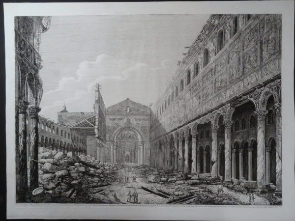 Basilica di S. Paollo, Roma 1823