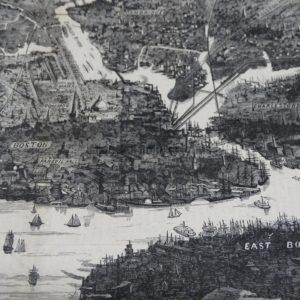 historic Boston history artwork