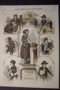 Boston Street Characters, c.1855. $45.