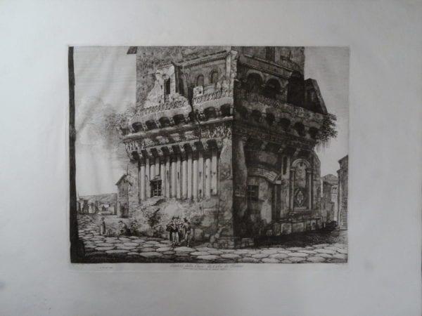 Casa di Cola, Roma 1820