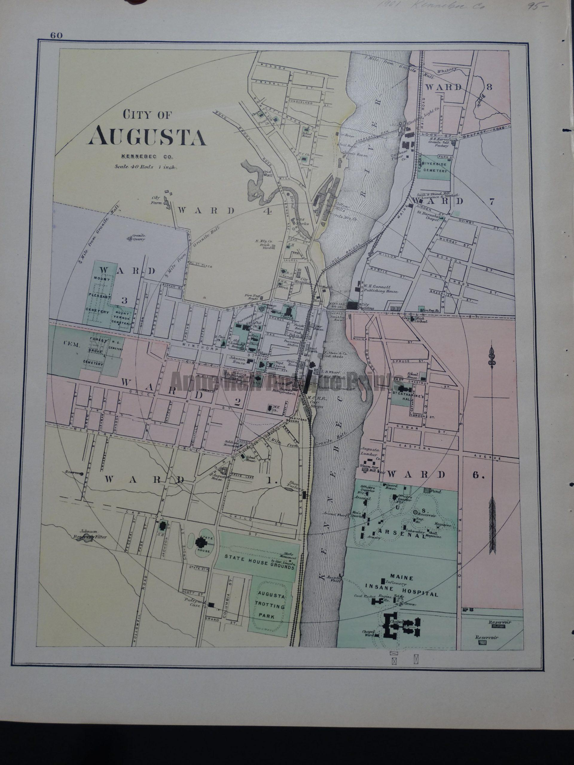 City of Augusta Kennebec Co