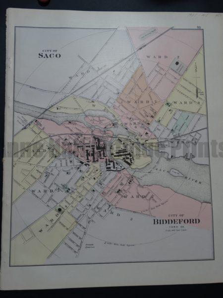 City of Saco and City of Biddeford