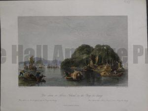 Yin-shan, or Silver Island, on the Yang-tse-keang, 1855. $135.