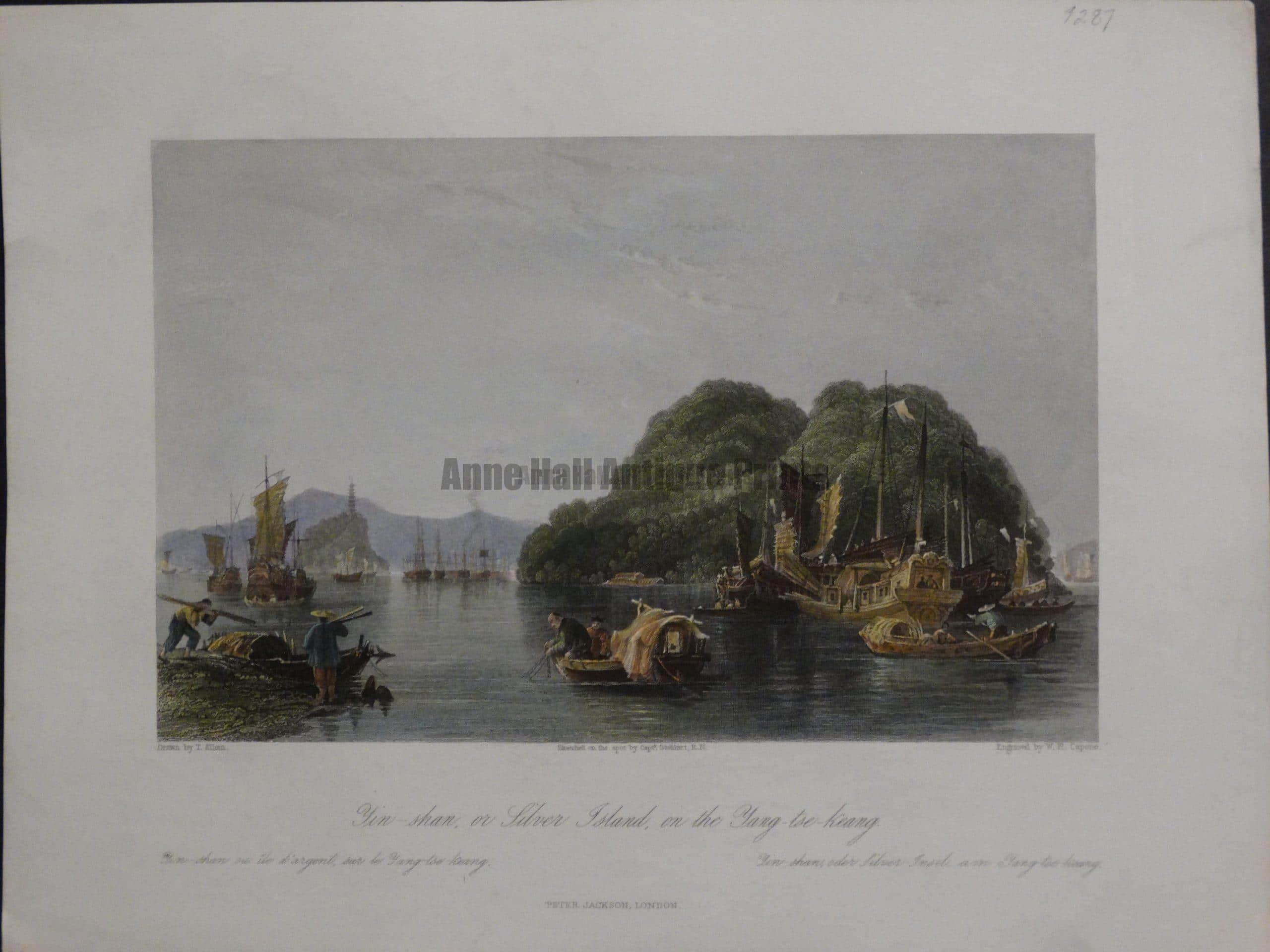 Yin-shan or Silver Island