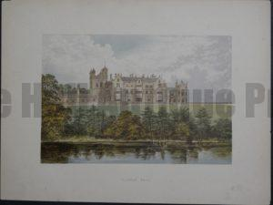 Worsley Hall, c.1880. $35.
