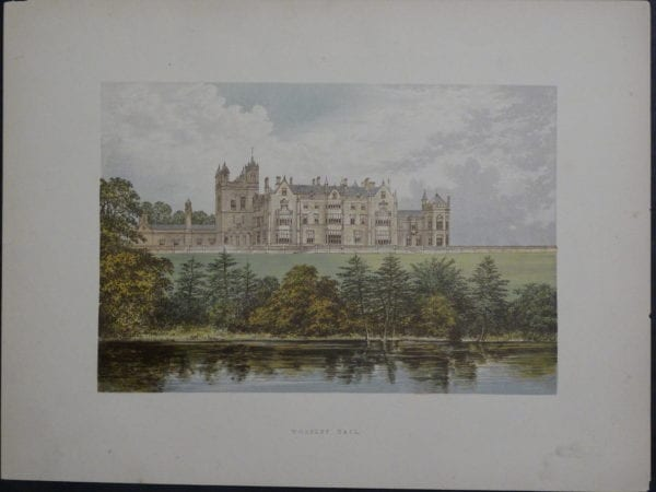 Worsley Hall, c.1880. $35.