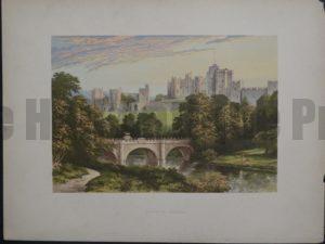 Alnwick Castle, c.1880. $35.