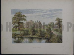 Ripley Castle, c.1880. $35.