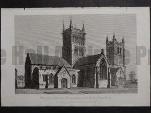 Wimburn Minster, 1820. $75.